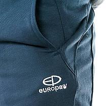 Шорты повседневные трикотажные Europaw 15 S8 т.синие, фото 3