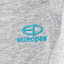 Шорты повседневные трикотажные Europaw 15 S8 серые, фото 2