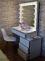 Туалетный столик для макияжа, гримерный стол, визажный стол, стол визажиста, фото 2