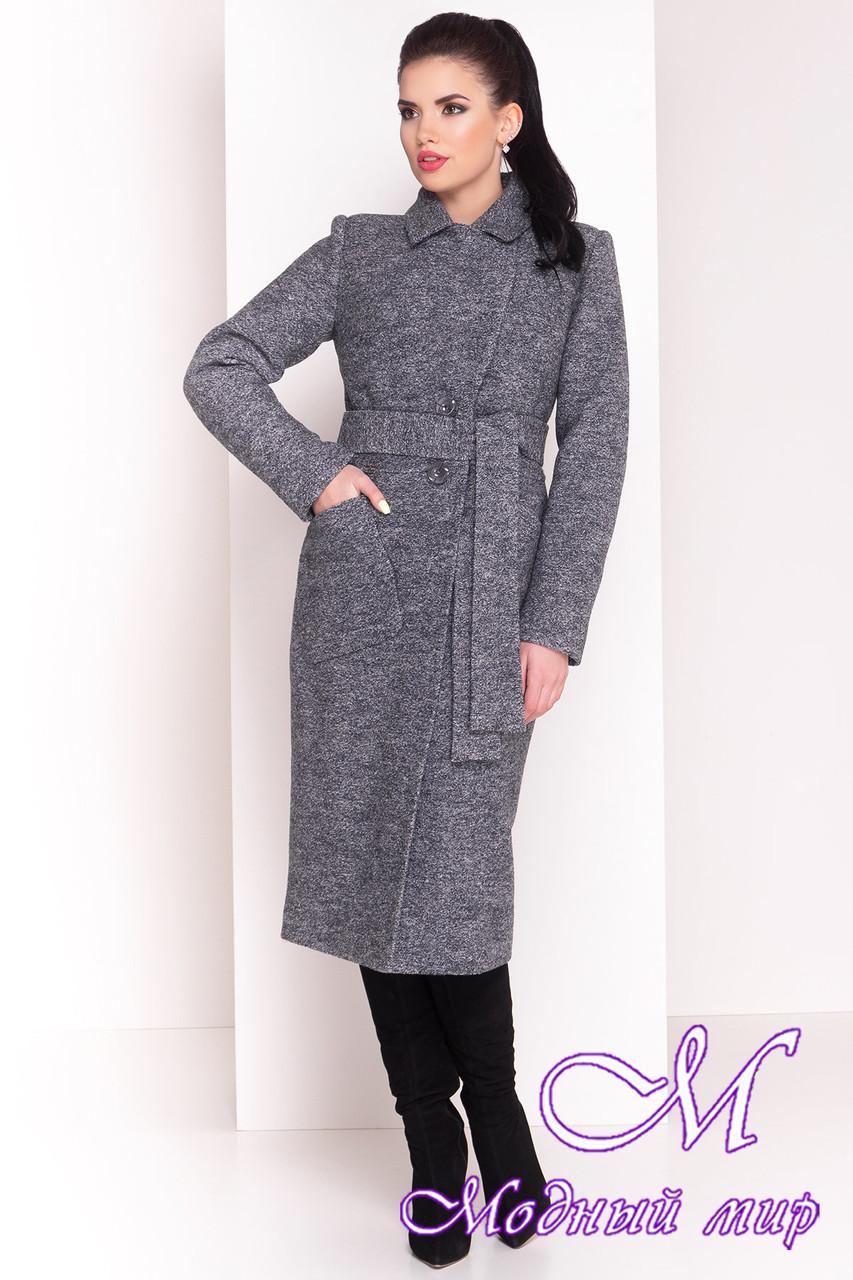 Женское зимнее пальто ниже колена (р. S, М, L) арт. Габриэлла 4363 - 21010