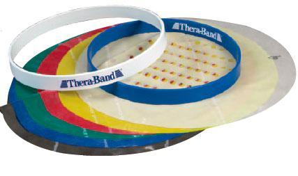 Сменный набор полотен к прогрессивному тренажеру для кистей рук Thera-Band (6 штук)