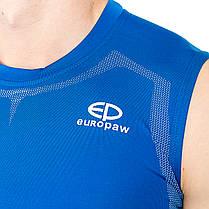 Безрукавка компрессионная Europaw sl top синяя, фото 3