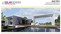 Зеркальная пленка Solar Screen Alu 70C, пропускаемость 30%. 1.52 метра