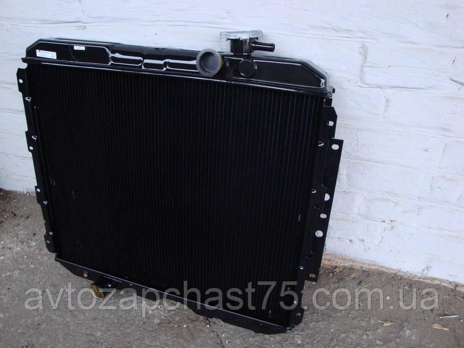 Радиатор Газ 3309, Газ 3308 двигатель Д 245 (Оренбургский радиатор, Россия)