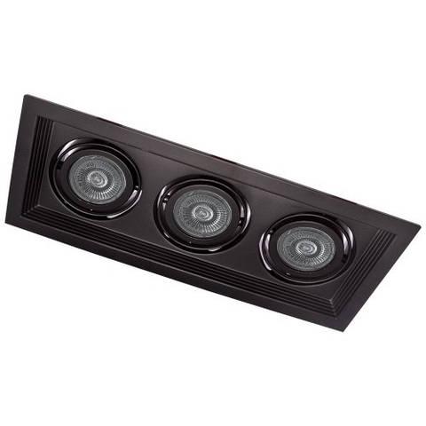 Точечный светильник Feron DLT203 Черный