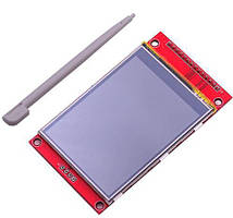 "2.8"" TFT сенсорный экран TJCTM24028-SPI + PCB адаптер микро-sd ILI9341"