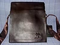 Мужская сумка Gorangd 9887-3 коричневая искусственная кожа
