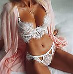 Красота женского тела в эротическом белье