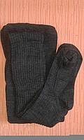 Колготки женские теплые трикотажные р.52-56 серые. От 5шт по 57грн