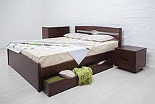 """Ліжко полуторне Олімп """"Ліка LUX з ящиками"""" (140*190)"""