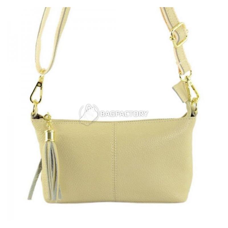 0f7e980f5dc1 Женская кожаная сумка TRAUM Молочный (7320-26) - Интернет-магазин брендовых  сумок