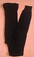 Гамаши женские теплые трикотажные р.48-52 черные. От 5шт по 57грн