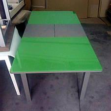 Стол кухонный стеклянный Сан-Ремо ТМ Биформер, зеленый, фото 2
