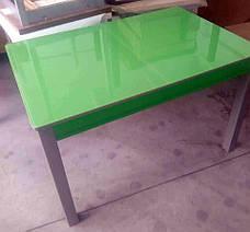Стол кухонный стеклянный Сан-Ремо ТМ Биформер, зеленый, фото 3