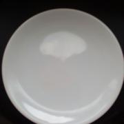 Десертна  тарілка біла 200мм.CESIRO кераміка