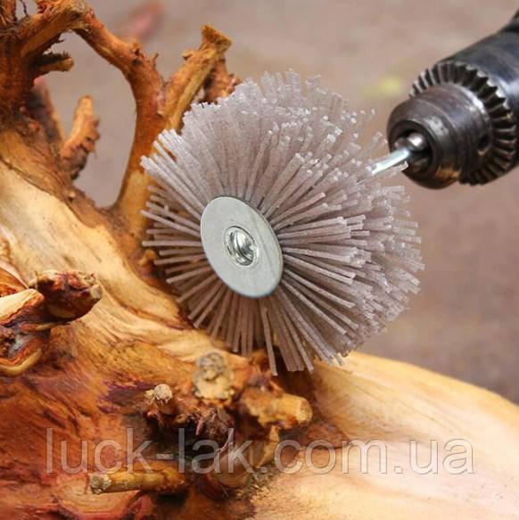 Шлифовальная щетка 180 гритт, насадка для дрели, шуруповерта
