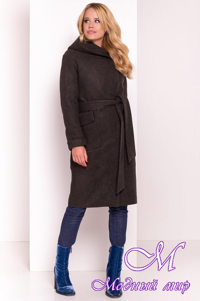 Женское зимнее пальто с капюшоном (р. S, М, L) арт. Анджи 5476 - 36759