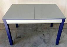 Стол кухонный стеклянный Сан-Ремо ТМ Биформер, цвет на выбор, фото 3
