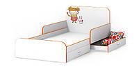Кровать с бортиками Мандаринка Белое дерево (Luxe Studio TM)