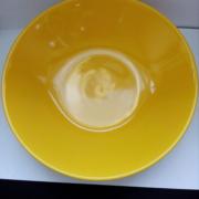 Глибока тарілка жовта 21 см. CESIRO кераміка