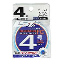 Флюорокарбон LineSystem Sea Bass Shok Leader FC 30м #4.0 0.341mm 8.11kg