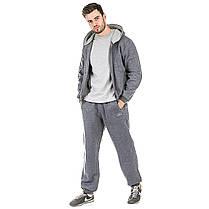 Спортивный костюм трикотажный Europaw 16 (теплый) серый, фото 2