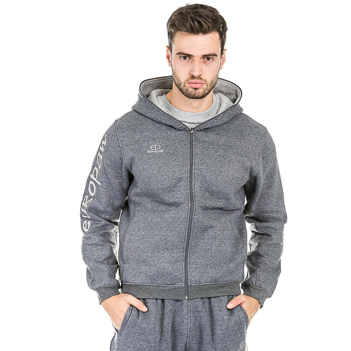 Спортивный костюм трикотажный Europaw 16 (теплый) серый
