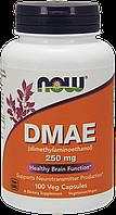 Витамины NOW Foods DMAE 250 mg 100 caps