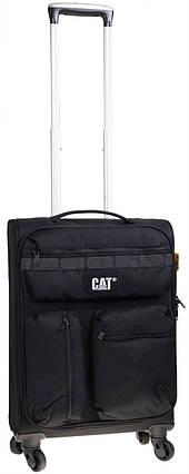 Чемодан CAT Cube Combat Visiflash 83402;01 черный , фото 2