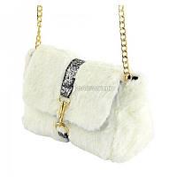 a2cf3fedfce3 Женская сумка с искусственным мехом TRAUM 7214-50, цена 539 грн ...