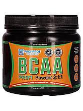 Аминокиcлоты без вкуса BCAA 2:1:1, 500г PROFIPROT