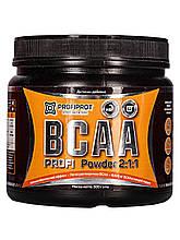 Аминокиcлоты BCAA 2:1:1 вкус, 500г PROFIPROT