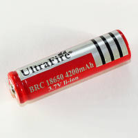 Аккумулятор 18650 Li-ion 4200mA 3.7V