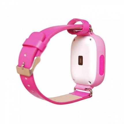Детские умные часы-телефон с GPS трекером Smart Watch Q90 Розовые , фото 2