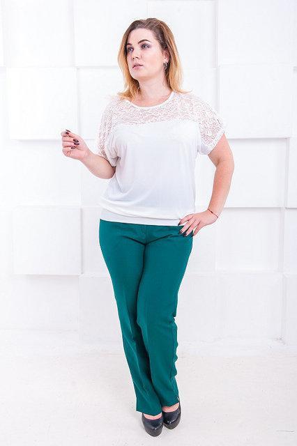 Классические женские брюки большого размера Джуди 52-60 р