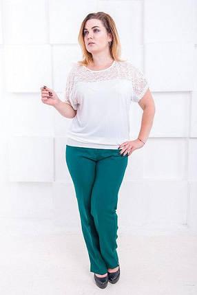 Классические женские брюки большого размера Джуди 52-60 р, фото 2