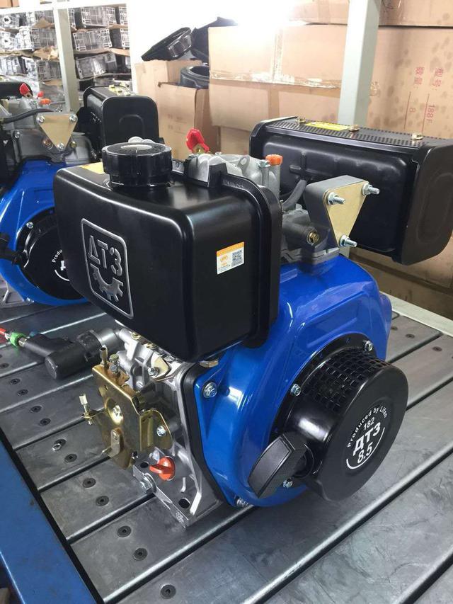 Двигатель на ДТЗ