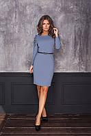 Женское платье с рукавами сборка мод.7053, фото 1
