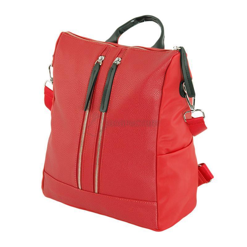 52410512 Сумка-рюкзак Traum Красная (7229-42) - Интернет-магазин брендовых сумок