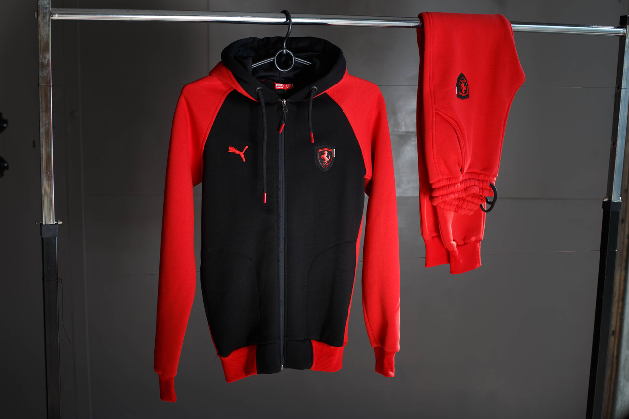 Спортивный мужской костюм Puma Ferrari