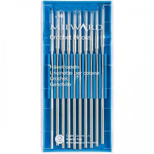 Стальной крючок для вязания Milward 2235203 (1 мм - 12 см)