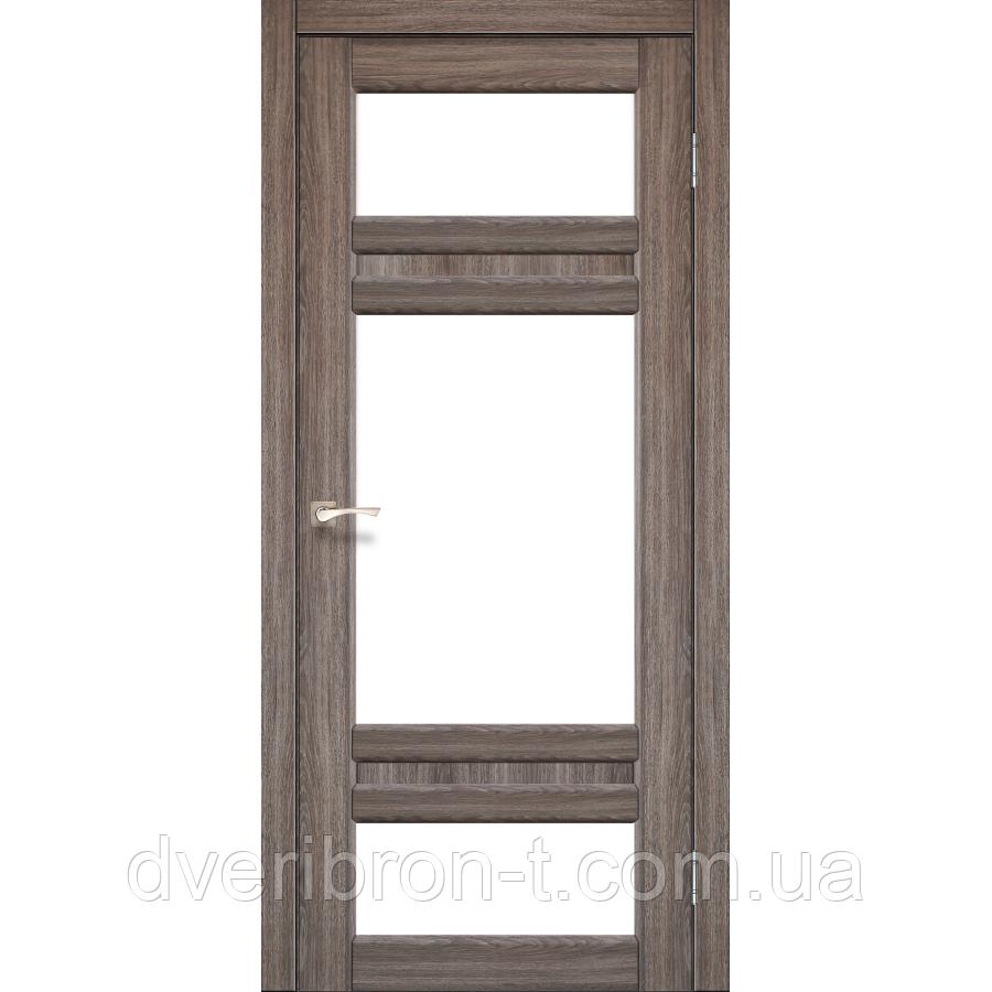Двери Корфад Tivoli TV-05  Орех, дуб грей, дуб беленый.
