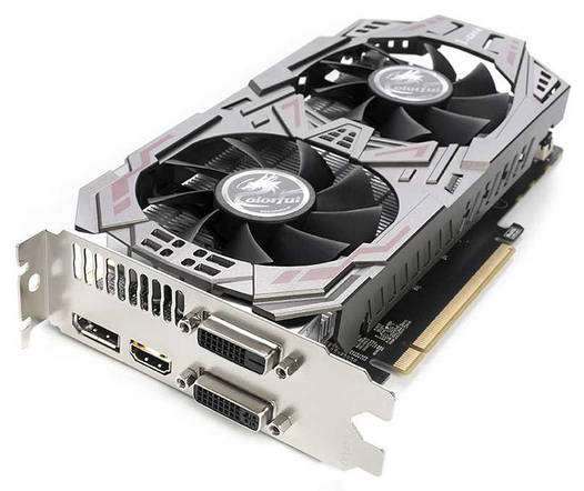 Colorful GeForce GTX950  2Gb DDR5 Б/У   Полностью рабочая!