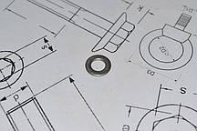 Шайба плоская Ф2.5 DIN 125 из стали А2