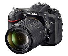 Зеркальный фотоаппарат Nikon D7200 kit (18-140 mm VR)