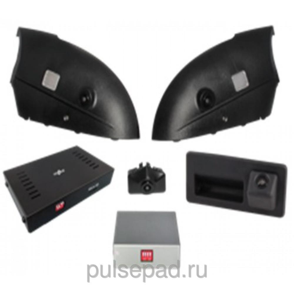 Система кругового обзора для штатной установки Gazer CKR4413-4L (Audi Q7)