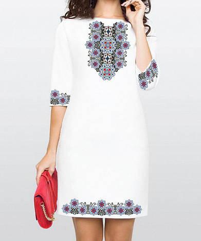 Заготовка жіночого плаття чи сукні для вишивки та вишивання бісером Бисерок  «Легенда 167» (П-167 )