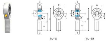 Шарнирные соединения SA-серии, фото 2