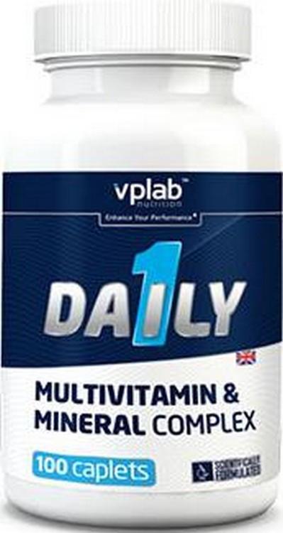 Вітаміни VPLab Daily Multivitamin 100caps