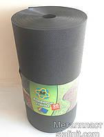 Бордюрная лента  15 см x 15 м, пластик черный